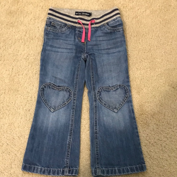 Mini Boden Other - Mini Boden Heart Jeans (5yrs)